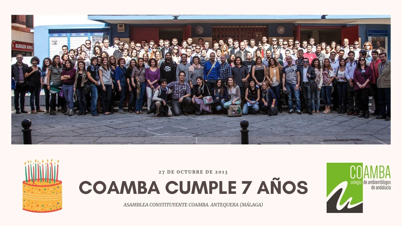 COAMBA CUMPLE 7 AÑOS