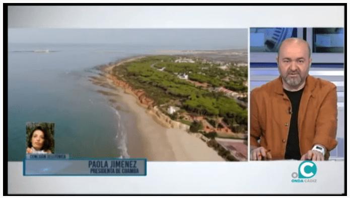 Nuestra Presidenta Paola Jiménez entrevistada en Onda Cádiz TV