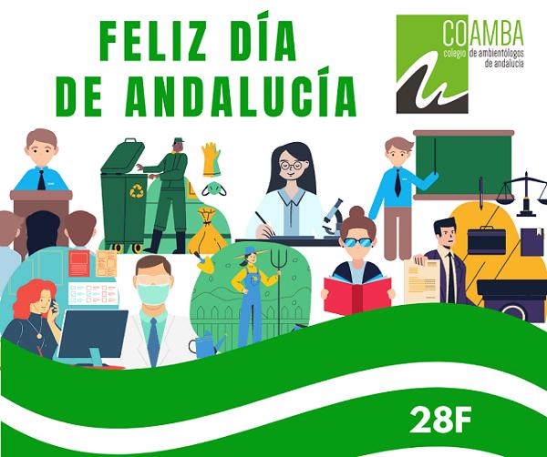 Feliz 28F - Feliz Día de Andalucía.
