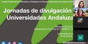 Comenzamos nuestras Jornadas de Divulgación en la Universidad de Huelva