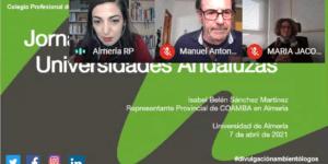 Continuamos nuestras Jornadas de Divulgación en la Universidad de Almería