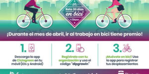 EMPLEO Y DESARROLLO SOSTENIBLE INFORMA: Reto 30 días en BICI