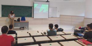 Primeras sesiones de divulgación en la Universidad de Jaén