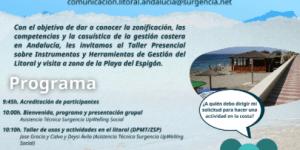 ACCIONES DE COMUNICACION GESTION DEL LITORAL - TALLER/VISITA GUIADA ALMERIA (21 OCT 2021)
