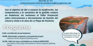 TALLER-VISITA sobre INSTRUMENTOS Y HERRAMIENTAS DE GESTIÓN DEL LITORAL en GRANADA